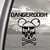 DANGER DOOM Black Decal MOUSE MASK MF HIP-HOP Car Sticker