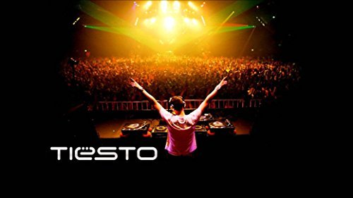 TIESTO DJ Trance Live Music Paper Rolled Wall Poster Print -- Size: (43