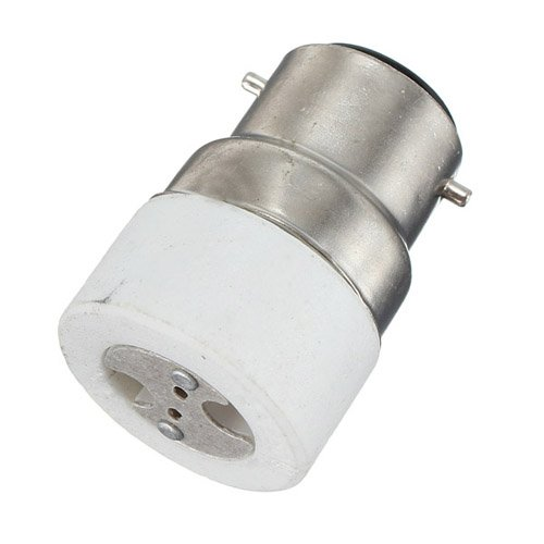 Details About B22 To Mr16 Standard Socket Base Bayonet Light Lamp Bulbs Adapter Converter