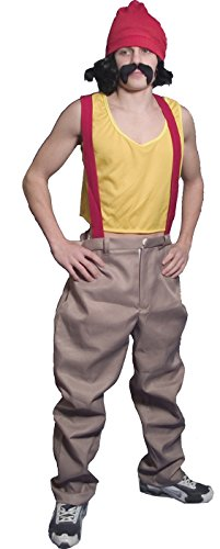Cheech and Chong - Cheech Deluxe Adult Costume (Men's Adult Costume)