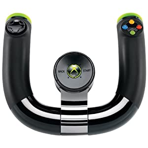 Amazon.com: Xbox 360 Wireless Speed Wheel: Video Games