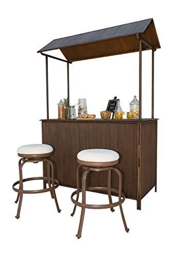 Panama-Jack-PJO-1401-ATQ-3PB-3-Piece-Tiki-Bar-Backless-Barstool-Set-Espresso