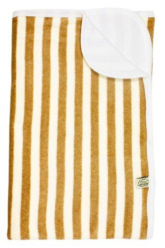 Imse Vimse Velour blanket 80*100 cm, Mocha Stripe