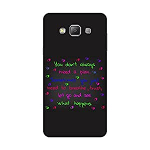 Giftroom Samsung A7 back case Cover, Premium Quality Designer Printed 3D Lightweight Slim Matte Finish Hard Case Back Cover for Samsung A7 - Giftroom-802