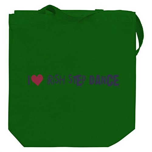 Irish Step Dance I LOVE Irish Step Dance URBAN STYLE Canvas Tote Bag