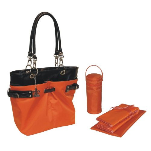 Kalencom Ultimate Nylon Tote, Orange front-158699