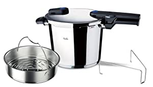 Fissler FSSFIS5859 Vitaquick Pressure Cooker with Perforated