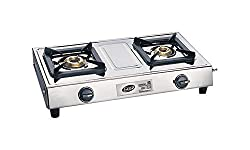 Glen Glass 2 Burner Cooktop, Silver (CT1023SS)