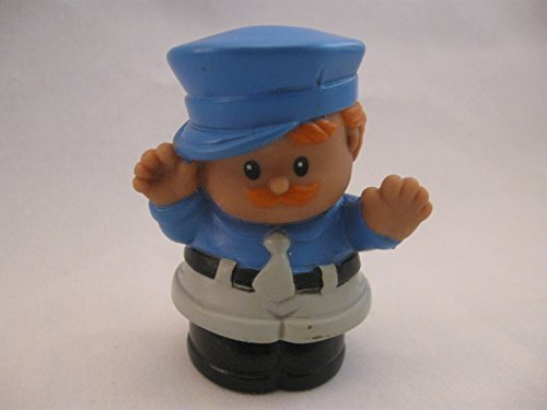 Fisher Price Little People RARE Bus Driver, Truck, Ice Cream Truck Driver, Police Officer, RED HAIR OOP 1997 (Fisher Price Ice Cream Truck compare prices)