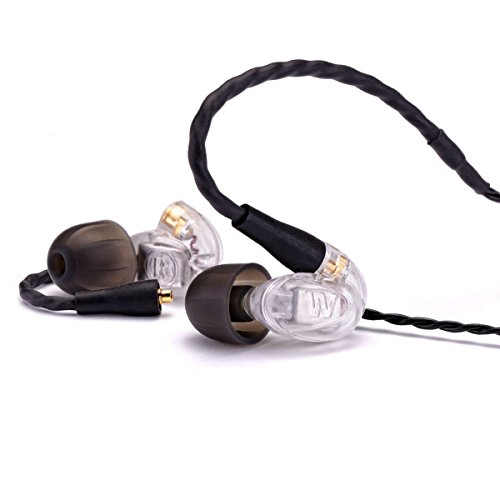 Westone UM Pro10 High Performance Single Driver Noise-Isolating In-Ear Monitors - Clear, 78514 (Cable Westone Um compare prices)