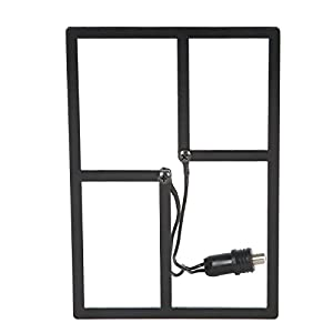 HD Frequency Cable Cutter Indoor Outdoor HD Digital TV Antenna - Mini (CC-17M)