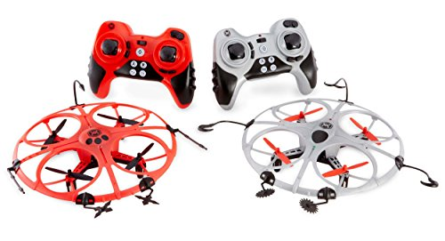 2016 Hot Toy List: Rated Kid-Tested and Parent-Approved (Parents Magazine / Amazon) Air Wars Battle Drones 2.4 GHz Toy (2 Pack)