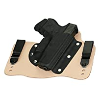 Glock 26, 27, & 33 In The Waist Band Hybrid Holster
