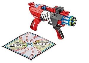 Mattel Boomco BGY62 - Twisted Spinner, inlusive 8 Smart Stick-Pfeilen und Zielscheibe, 20 cm