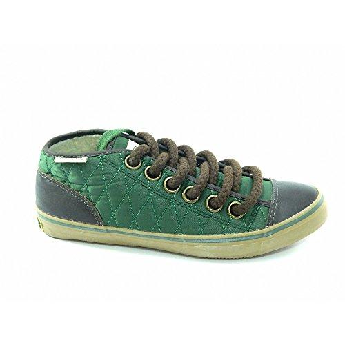 Spalding - Spalding scarpe vintage Net Quilted Nylon Verde - Verde, 41