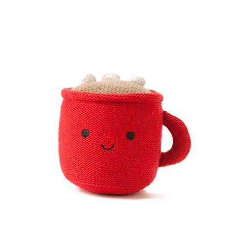 Hallmark Baby Festive and Fun Holiday Red Happy Hot Cocoa Cup Rattle