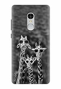 Noise Designer Printed Case / Cover for Xiaomi Redmi Note 4 / Patterns & Ethnic / Giraffes Design