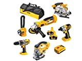 Advanced DeWalt DCX6PAKL2 XRP 18 Volt 6 Piece Kit Cw 2 x 2.0 Nano Bat [PKECO]