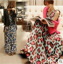 love-mission-network-recommended-south-korea-shopping-2013-summer-dress-skirt-leopard-korean-version