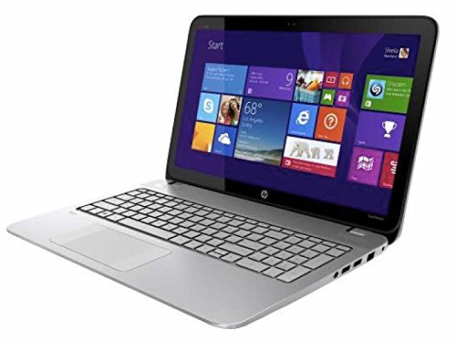 "HP Envy TouchSmart 15,6"" Touch-Screen Laptop Intel Core i5 4210m, 8Memorie GB - 750GB Hard Drive - Silver naturale"