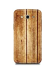 Light Brown Wooden Samsung Grand Prime Case