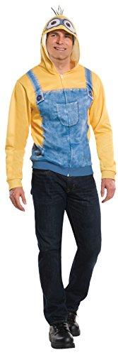 Rubie's Costume Co Men's Minion Unisex Hoodie