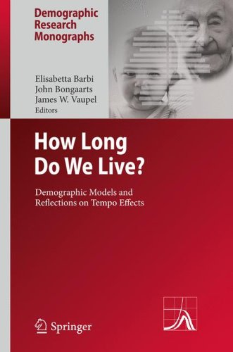 How Long Do We Live?: Demographic Models and Reflections on Tempo Effects (Demographic Research Monographs)