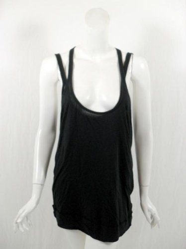 RLX Ralph Lauren womens active black layered racerback tank top XS