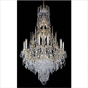 Vintage Venetian Crystal Chandelier Czech Pendalogue | eBay
