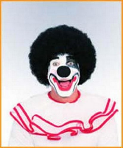 Clown Wigs Halloween Wigs Black Wig