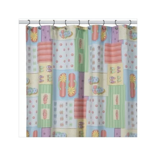 Shower Curtains With Birds Flip Flop Tier Curtains