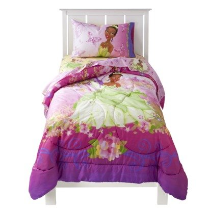 Princess Tiana Bedding Totally Kids Totally Bedrooms Princess And The Frog Sheets
