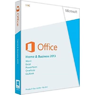 NEW MICROSOFT OFFICE HOME AND BUSINESS 2013 With DVD For 1 PC