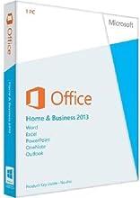 Microsoft Office Home & Business 2013 - Paquete De Ofimática, Inglés, 32-bit/64-bit