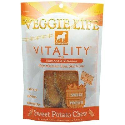 Vitality Veggie Life Chew Dog Treat Quantity: 5-Oz, Flavor: Chicken & Sweet Potato