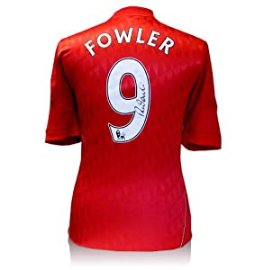 Robbie Fowler Signed Liverpool Shirt - Number 9 by A1 Sporting Memorabilia