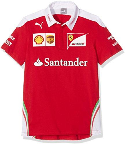 Puma Sf Team Polo - Rosso (Rosso Corsa) - M