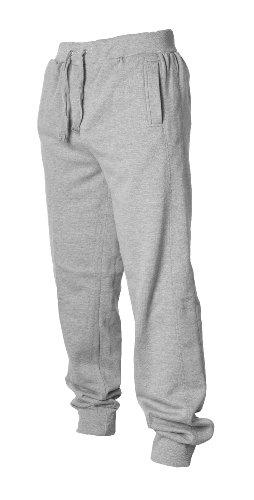 Urban Classics -  Pantaloni sportivi  - Basic - Uomo grigio Small
