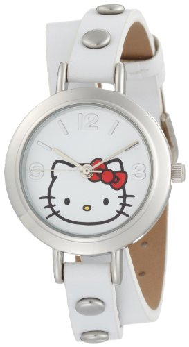Hello Kitty Women's H3WL1002WT White Dial Watch
