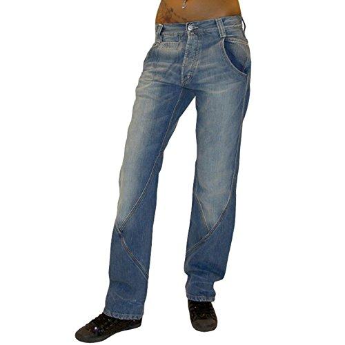 MET -  Jeans  - Straight  - Donna blu W27