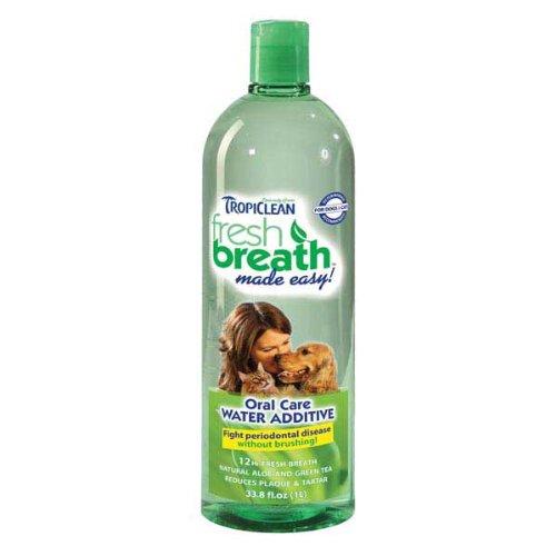 Tropiclean Fresh Breath Water Additive 32 oz.