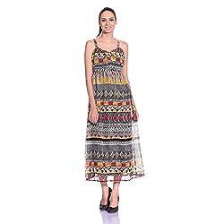 styleAVA Women's Dress (DRS_01_MULTI_Multicolor_Free Size)