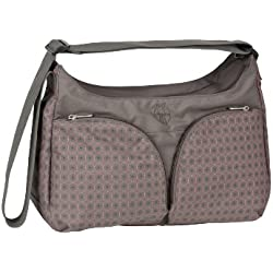 Lässig LBSB132110 Wickeltasche Basic Shoulder Bag, New Design, Comb slate