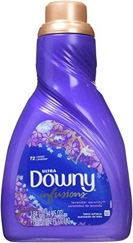 2 Pk, Downy Infusions Lavender Liquid Fabric Softener 72 Loa