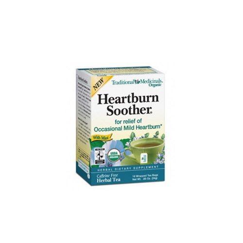 Traditional Medicinals Organic  Heartburn Soother Tea  .85-Oz (Pack of 2)
