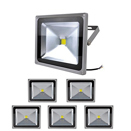 6X 50W Smd Led Floodlight Flood Light Spotlight Ip65 Cool White High Power Long Life Headlight