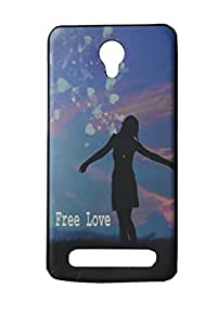 Back Case Cover For Micromax Canvas Blaze 4 g Q 400