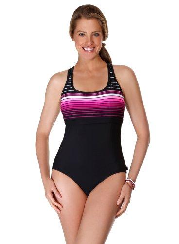 28275d64c749a Reebok Swimsta Racerback One Piece Swimsuit 864576 12 Swimista Pink ...