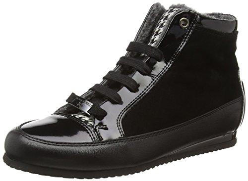 Tosca Blu KIN, Sneaker alta donna, Nero (Schwarz (NERO C99)), 37