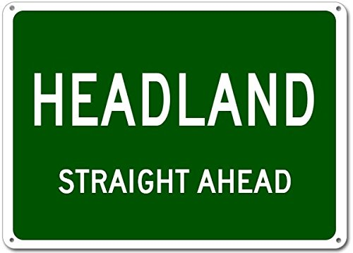 Headland City Sign